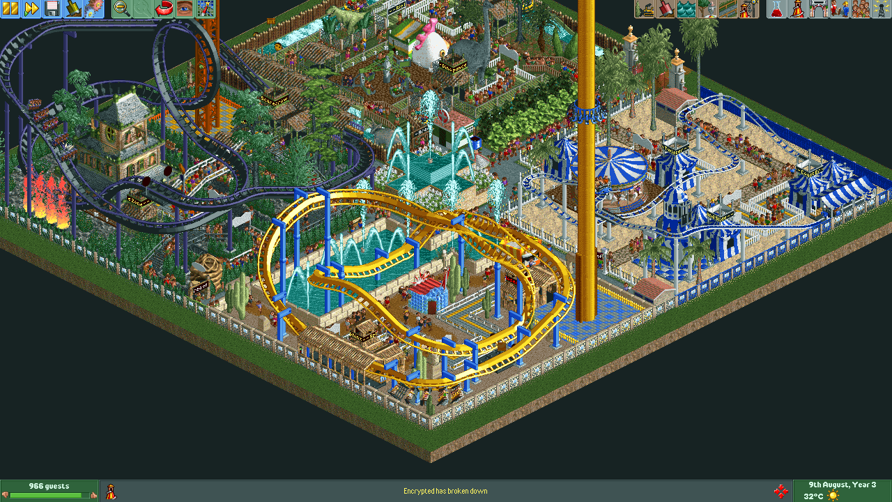Wuis' Micro Park - Parks - OpenRCT2