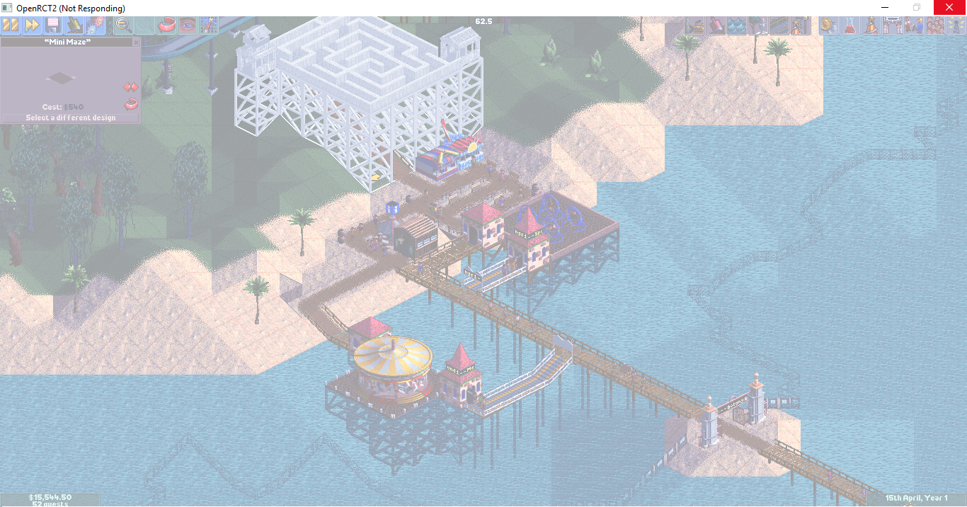 Game Freeze - Problems, Bugs and Feedback - OpenRCT2