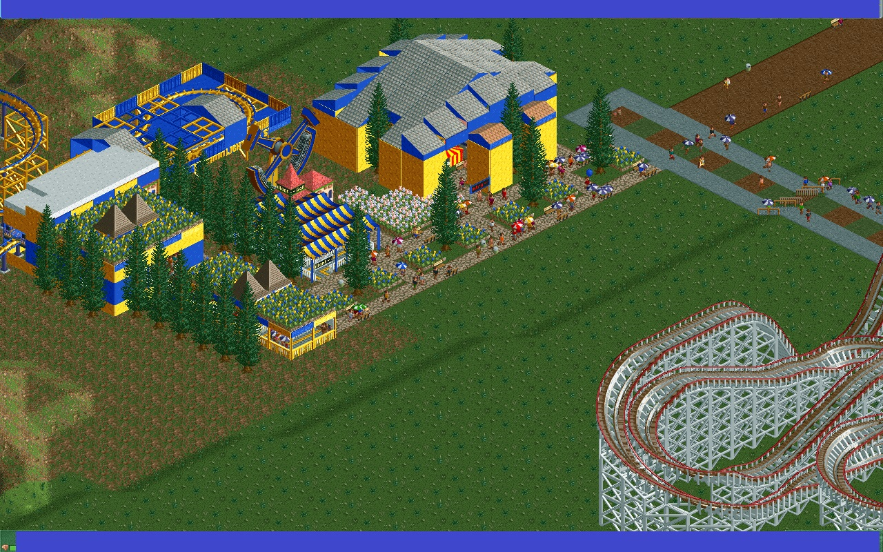 An Unnamed RCT2 Mega Park - Custom Content - OpenRCT2