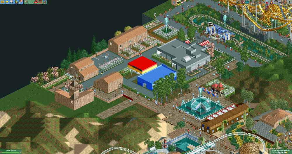 The OpenRCT2 Group Park 6 2017-06-24 22-24-45.png