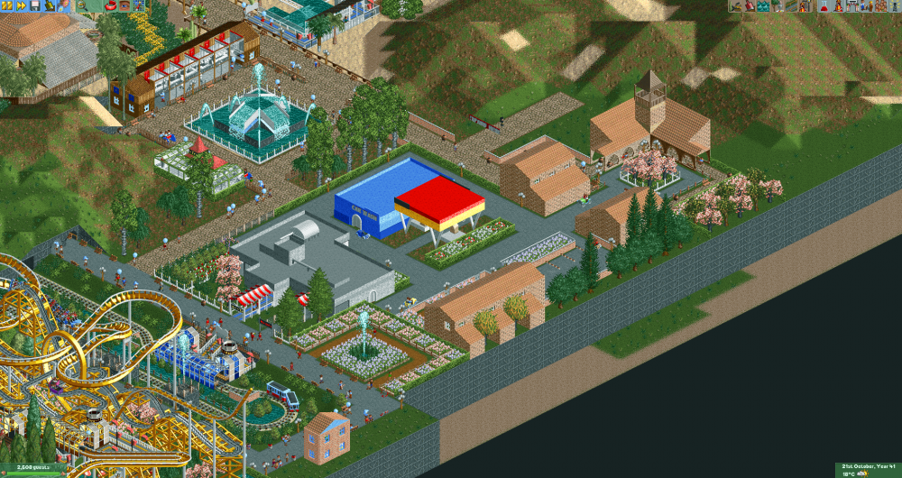 The OpenRCT2 Group Park 6 2017-06-24 22-25-02.png