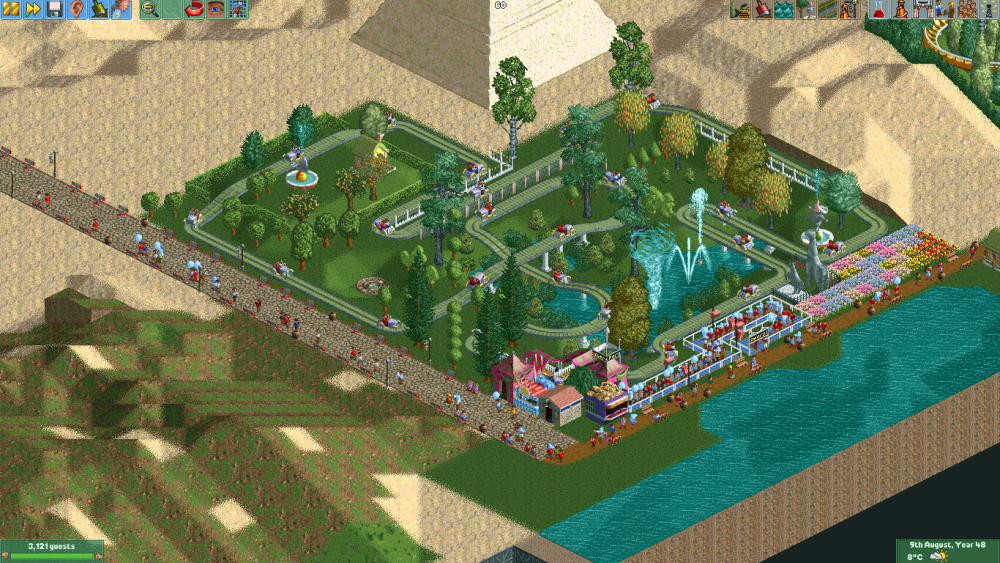 The OpenRCT2 Group Park 6 2017-06-28 20-33-06.png