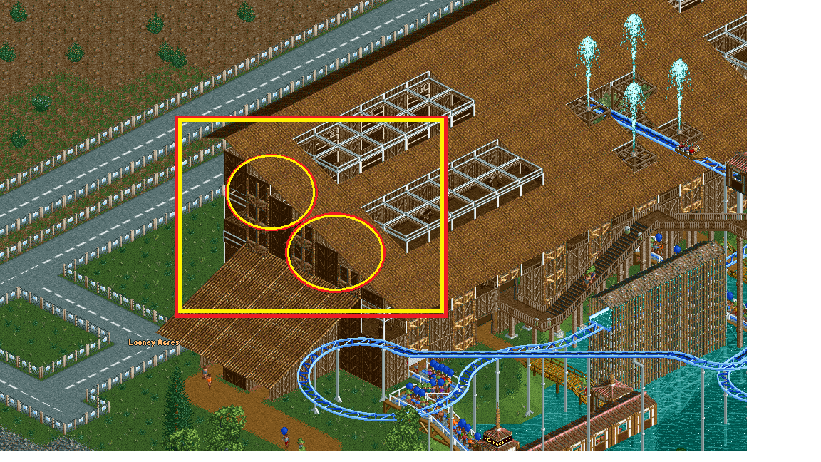 Need help with scenery building  - General Discussion - OpenRCT2