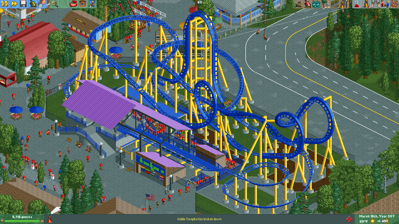 Knoebels Amut Resort in RCT2 - Build Logs - OpenRCT2 on kennywood map, frontier city map, adventureland map, seabreeze map, carowinds map, fun spot map, blackpool pleasure beach map, great escape map, waldameer map, knott's berry farm map, ghost town in the sky map, michigan's adventure map, cedar point map, six flags map, sesame place map, kings dominion map, wild adventures map, kings island map, delgrosso's map, kiddieland map,