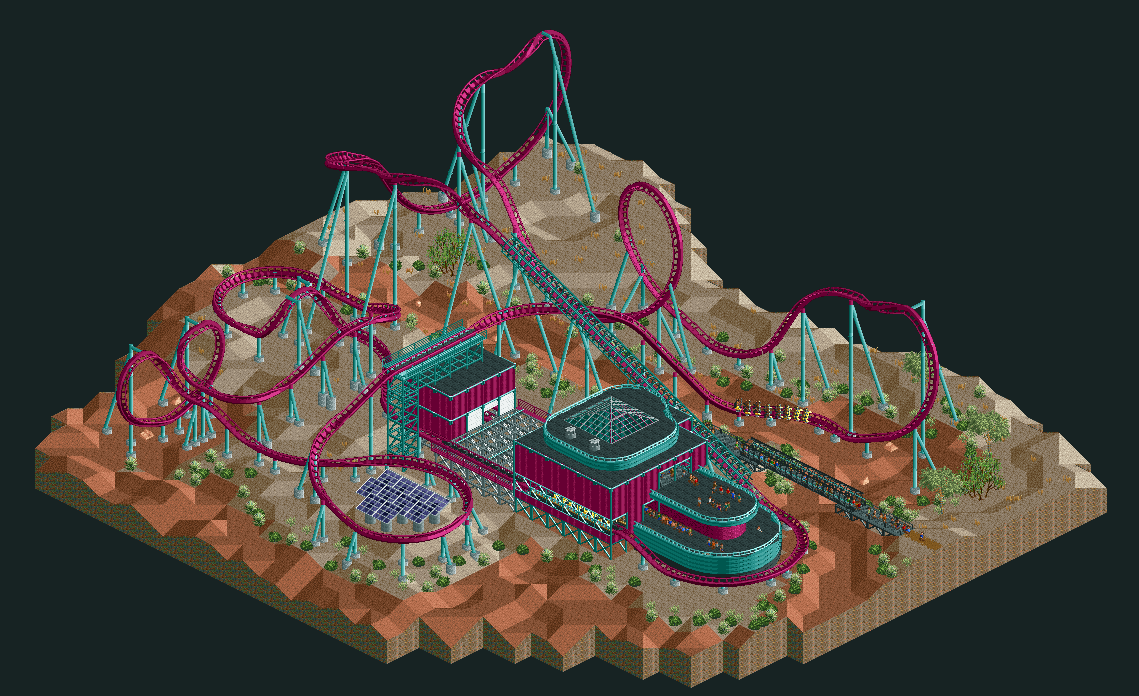 Helios Research Facility - Parks - OpenRCT2